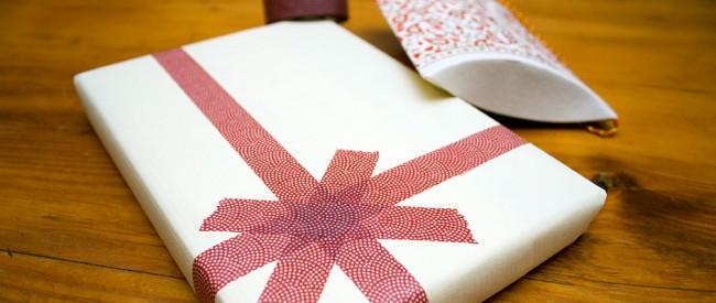Paquet cadeau masking tape