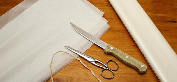 papier en soie ivoire
