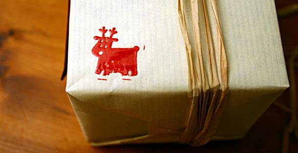 Tampon emballage papier kraft