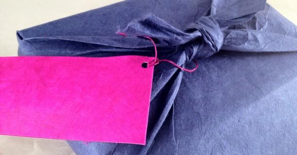 Furoshiki en papier lokta