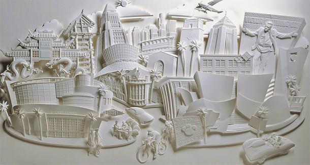 sculpture papier