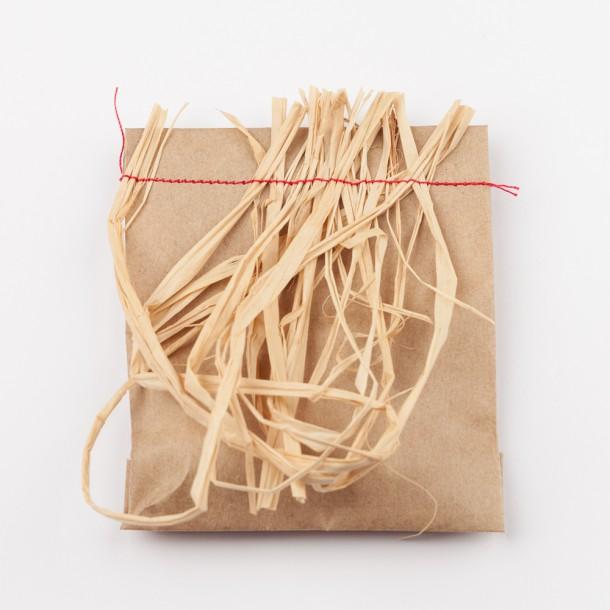 Sachet kraft cousu masking tape et papier cadeau - Papier cadeau kraft ...