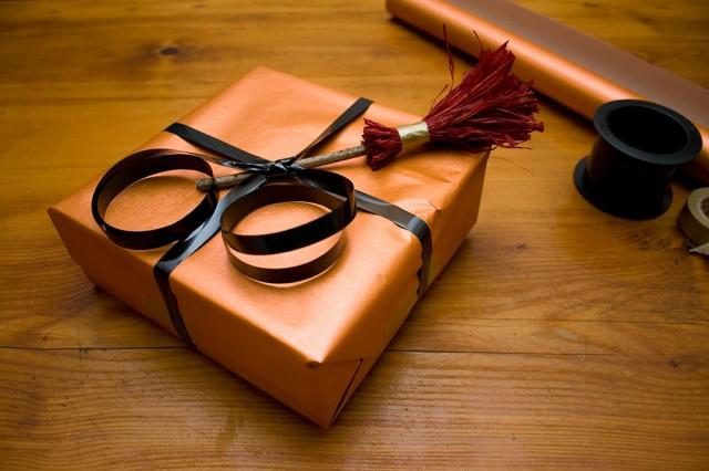 Paquet cadeau spécial Halloween