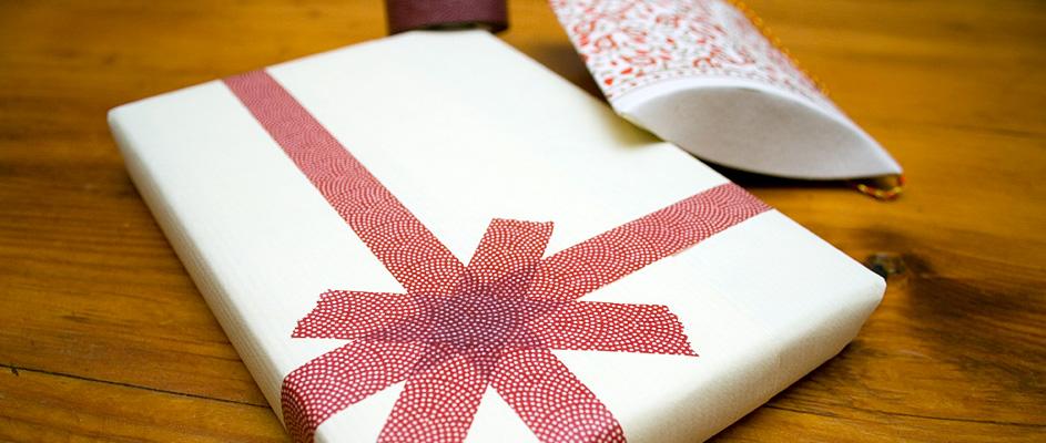 Paquet cadeau pour Ninon