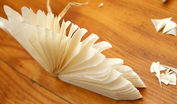 papier de soie ivoire