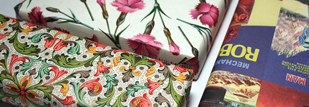 Paquets cadeaux papier florenton