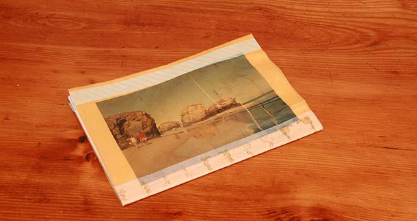 Impression sur papier lokta