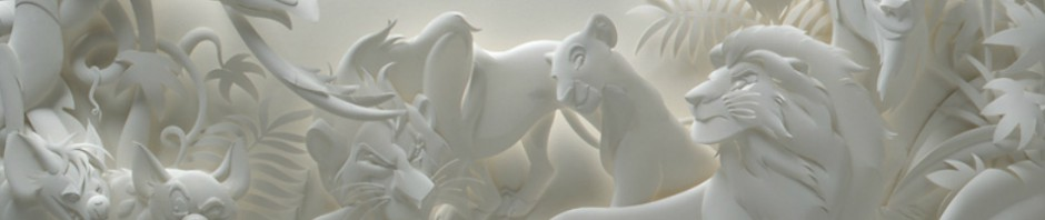 D'incroyables sculptures en papier