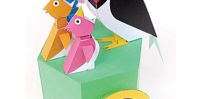Les papertoys de Keisuke Saka