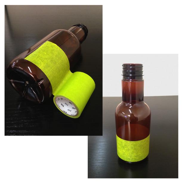 Etape 2 : Poser la prmière bande de masking tape