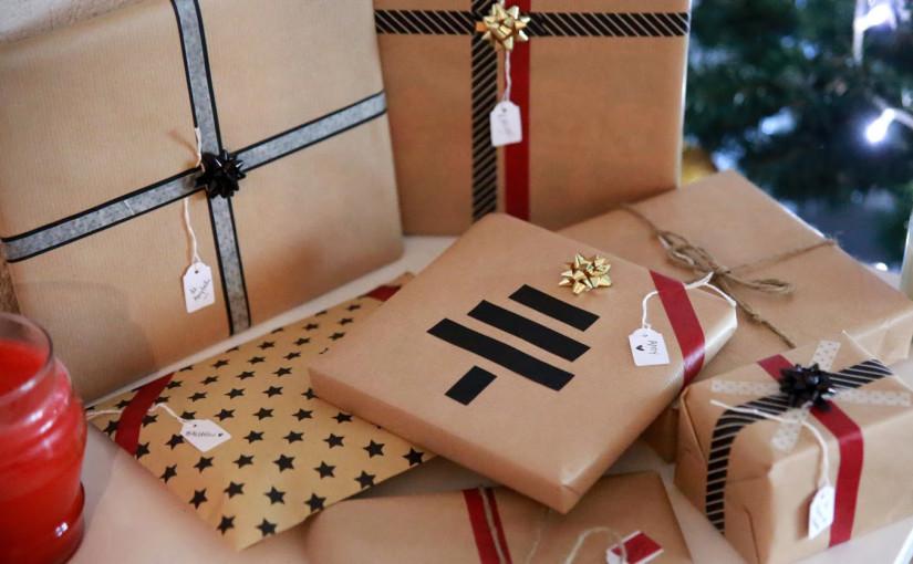 Paquets cadeaux originaux avec Deux soeurs, un agenda