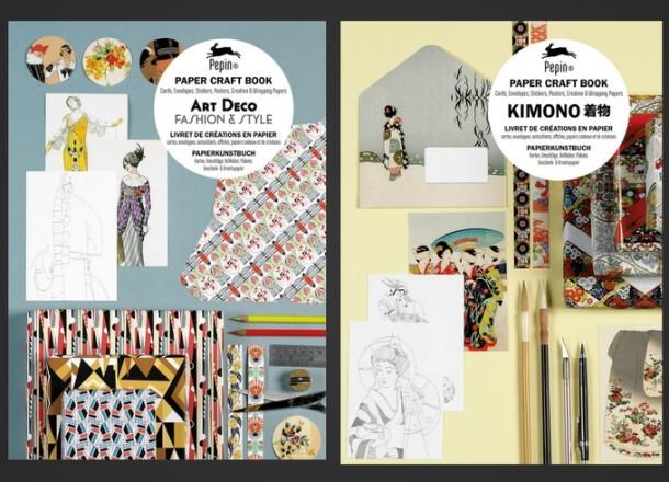 Livres de créations en papier