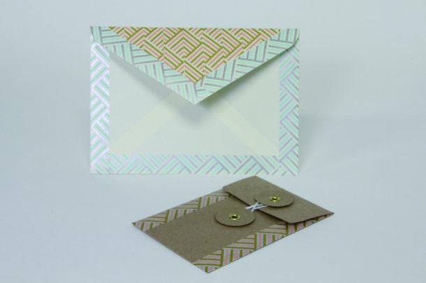 enveloppe décorée